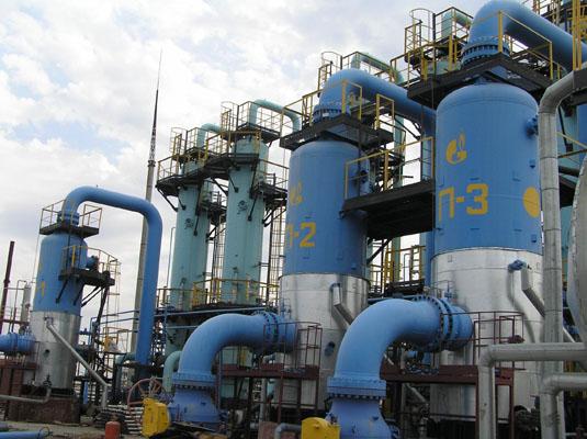 Газові сховища України заповнені менше, ніж на третину