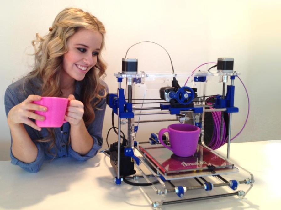 Как печатают 3D принтеры?
