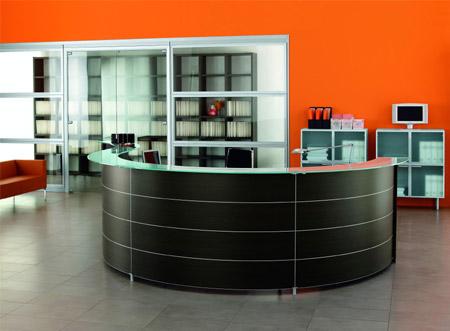 Меблі для ресепшн зони: обличчя компанії