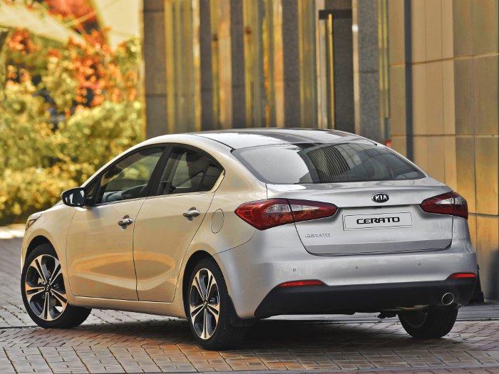 KIA Cerato: особенности автомобиля