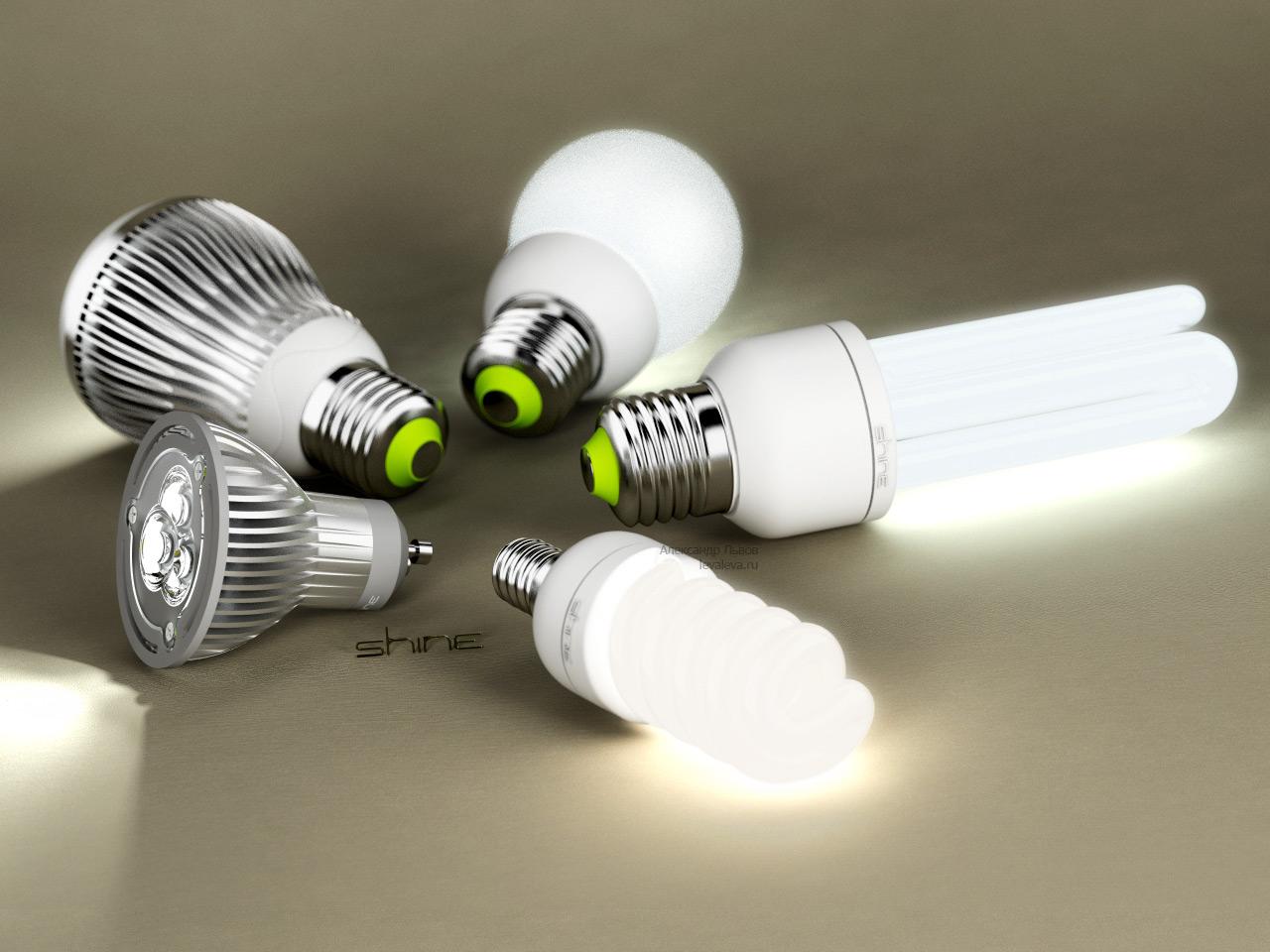 Сферы применения светодиодных ламп