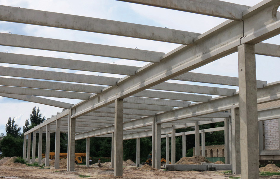 Области применения железобетонных конструкций