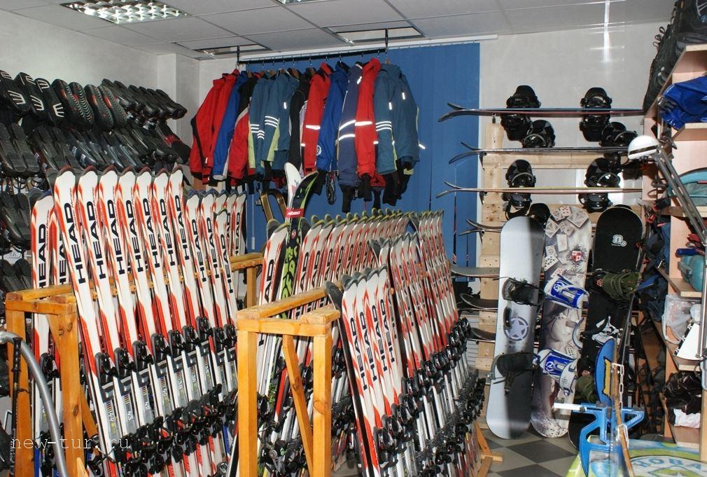 Бизнес по прокату горных лыж, сноубордов и спортивного инвентаря
