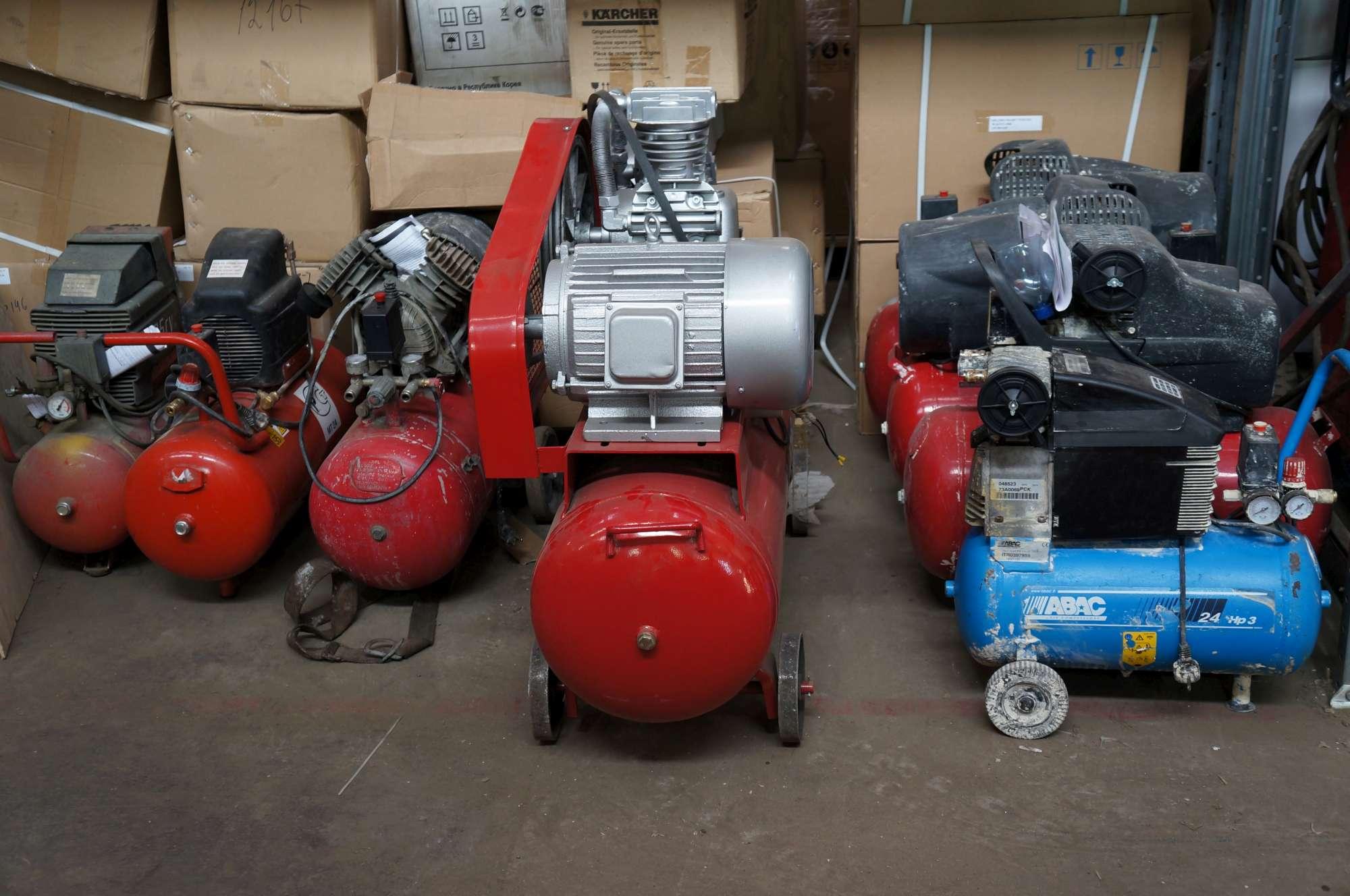 Використання стисненого повітря і компресорів на виробництві
