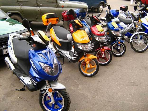 Помощь в выборе: как правильно выбрать скутер?