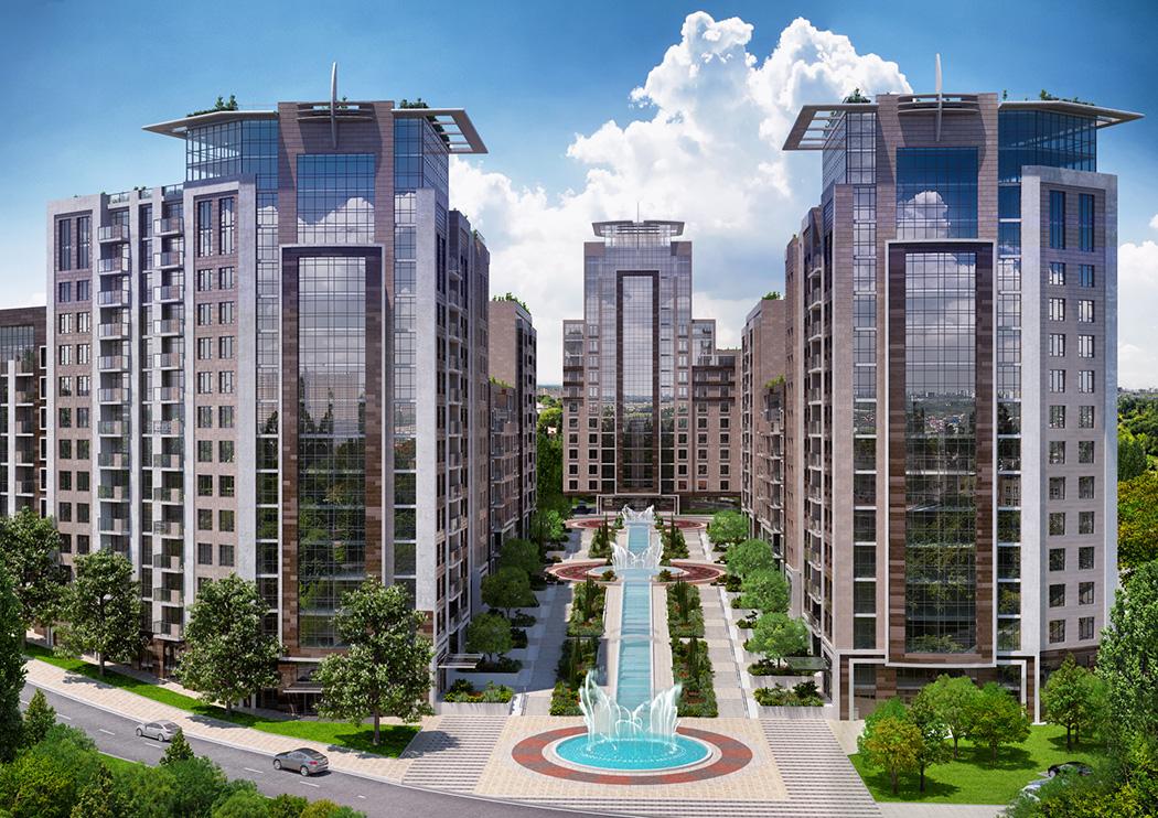 Современный жилой комплекс – преимущества неоспоримы