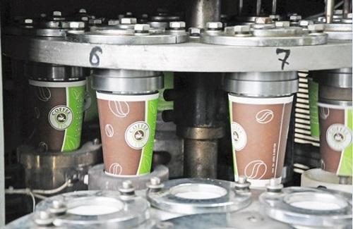 Оборудование для производства бумажной посуды